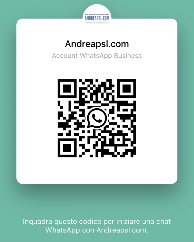 WhatsApp Andreapsl.com